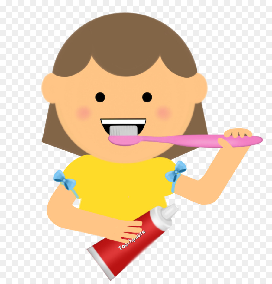 900x940 Tooth Brushing Child Clip Art