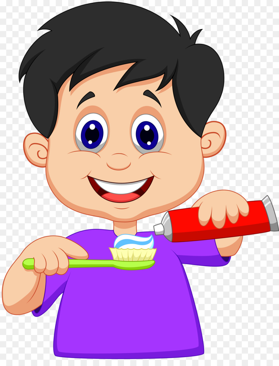 900x1180 Tooth Brushing Clip Art