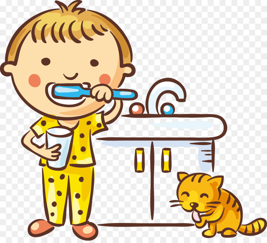 900x820 Tooth Brushing Dentistry Child