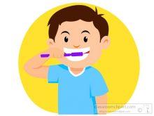 220x165 Brush Teeth Clipart Children Brush Their Teeth Brush Teeth Child