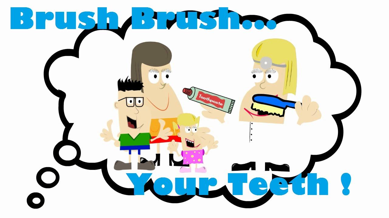 1280x720 Brush Brush Your Teeth Twice A Day