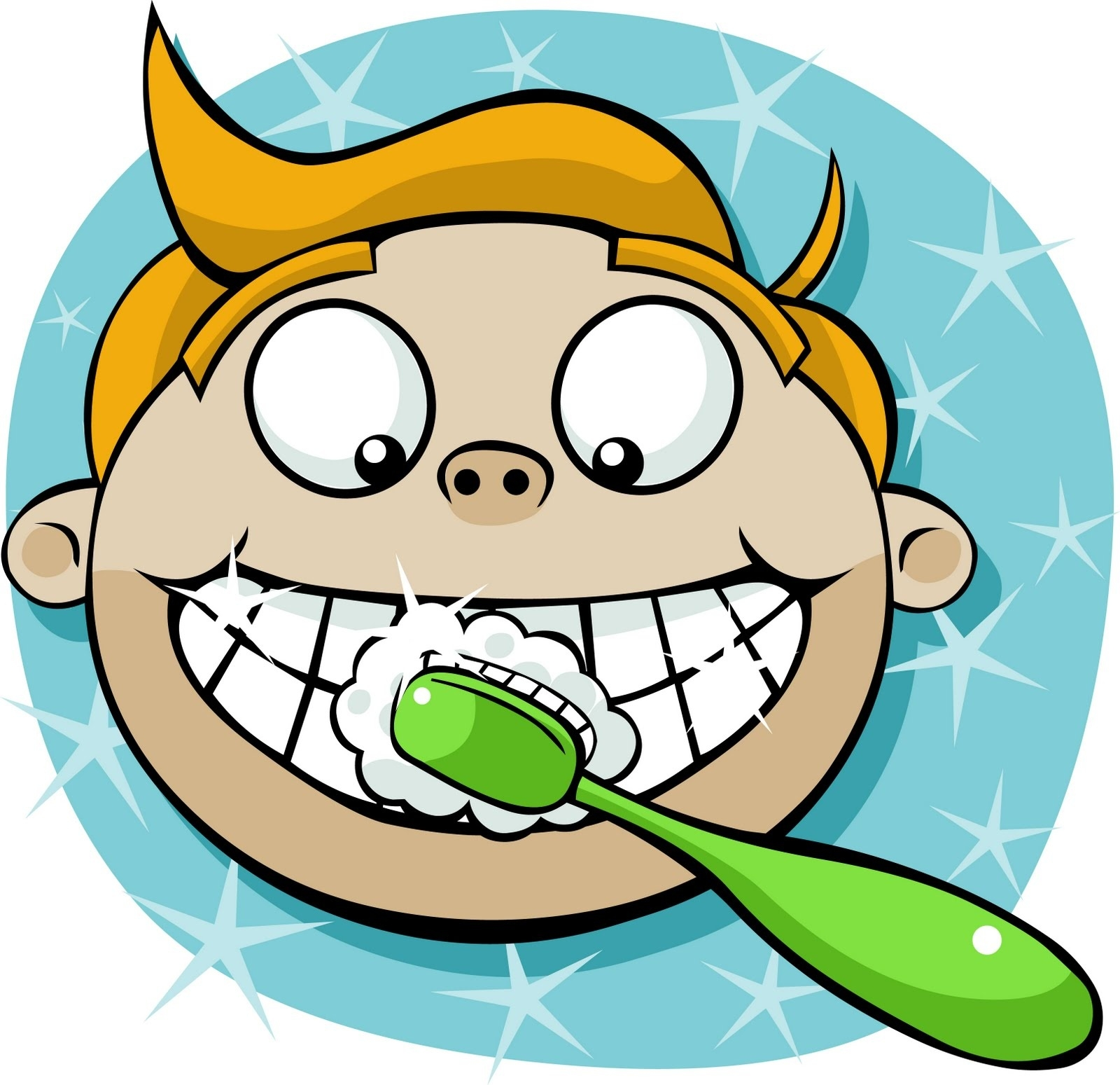 1600x1549 Brushing Teeth Clipart Free Download Clip Art