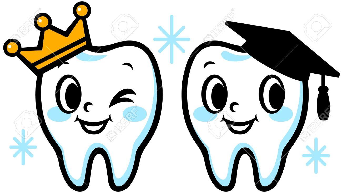 1300x734 Cartoon Tooth Clipart