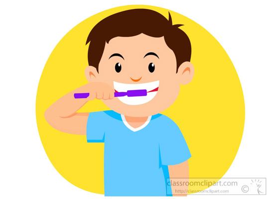 550x400 Brush Teeth Clipart Dental Clipart Little Boy Brushing Teeth