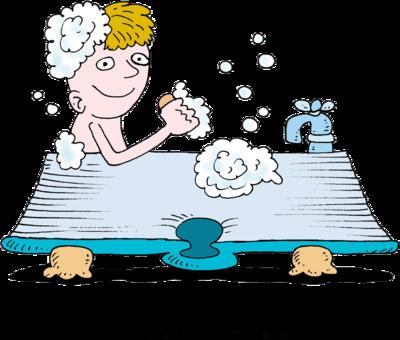 400x340 Image Man In Bible Shaped Bathtub Bible Clip Art