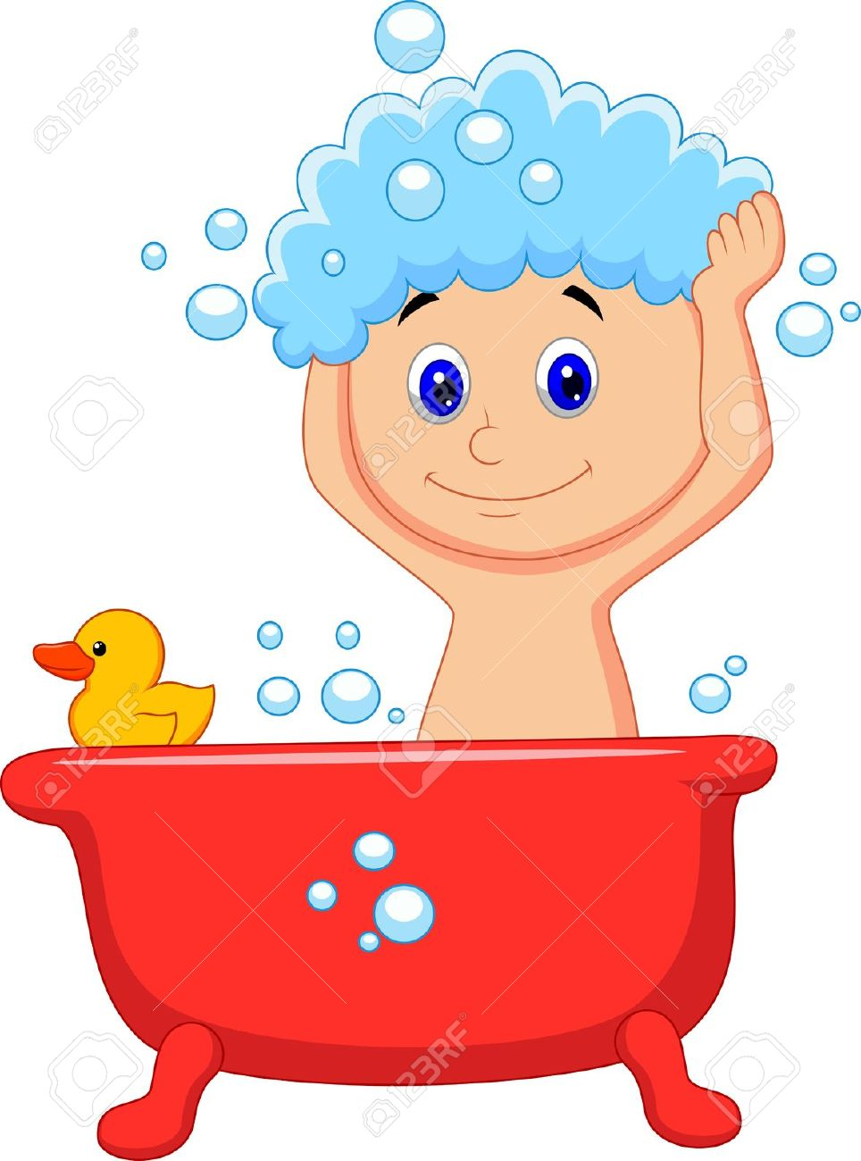 964x1300 Kid Bathing Bath Clipart Huge Bathroom Clip Art