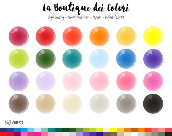 570x453 50 Soap Bubble Clipart, Cute Digital Illustrations Png, Bubbles