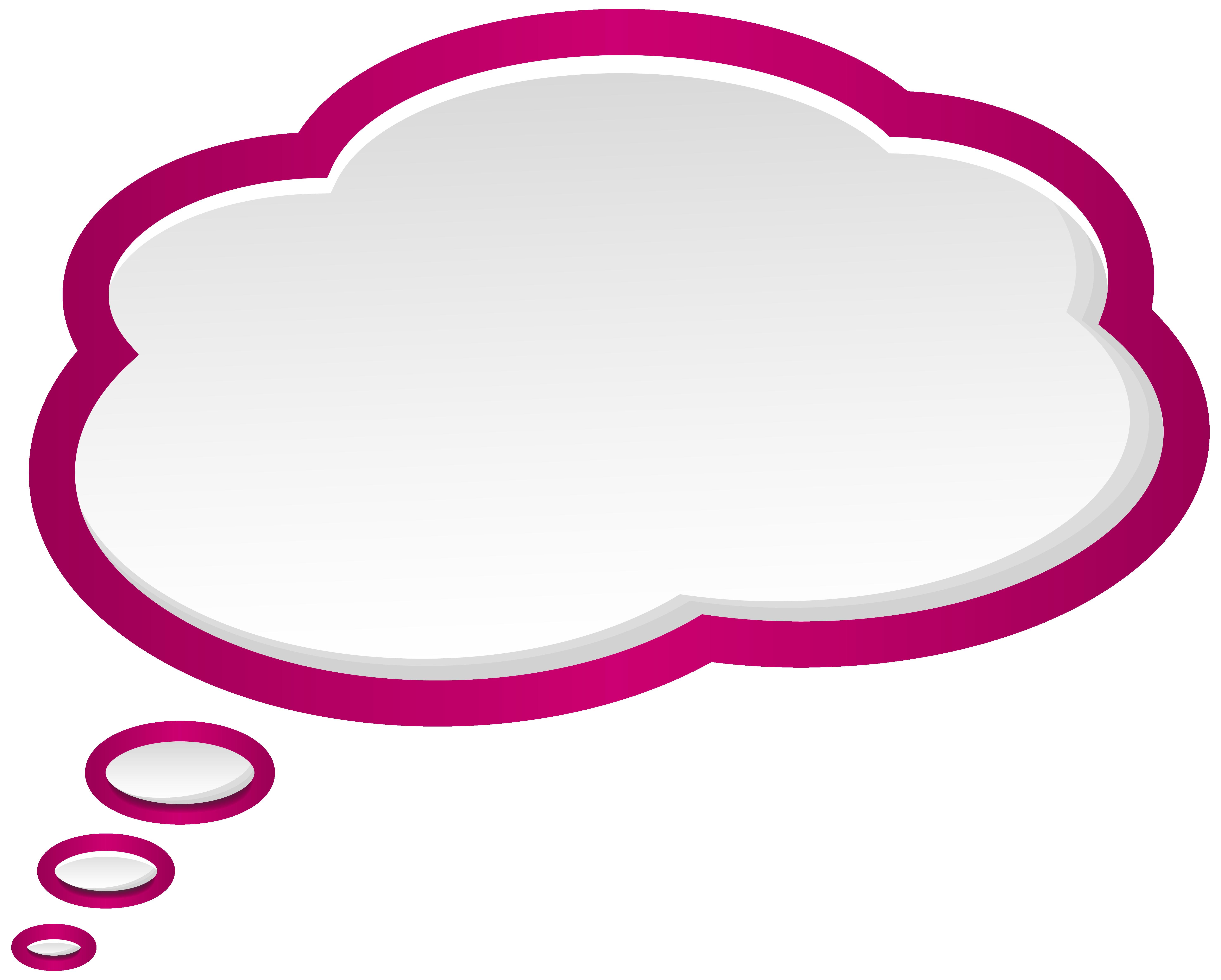 5911x4744 Bubble Speech Pink White Png Clip Art Imageu200b Gallery