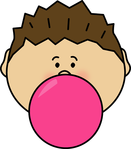 450x510 Bubblegum Clip Art