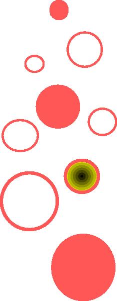 234x599 Champagne Bubbles Clip Art