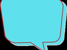 220x165 Speech Bubble Clipart Side Speech Bubble Clip Art