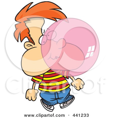 450x470 Royalty Free (Rf) Bubble Gum Clipart, Illustrations, Vector