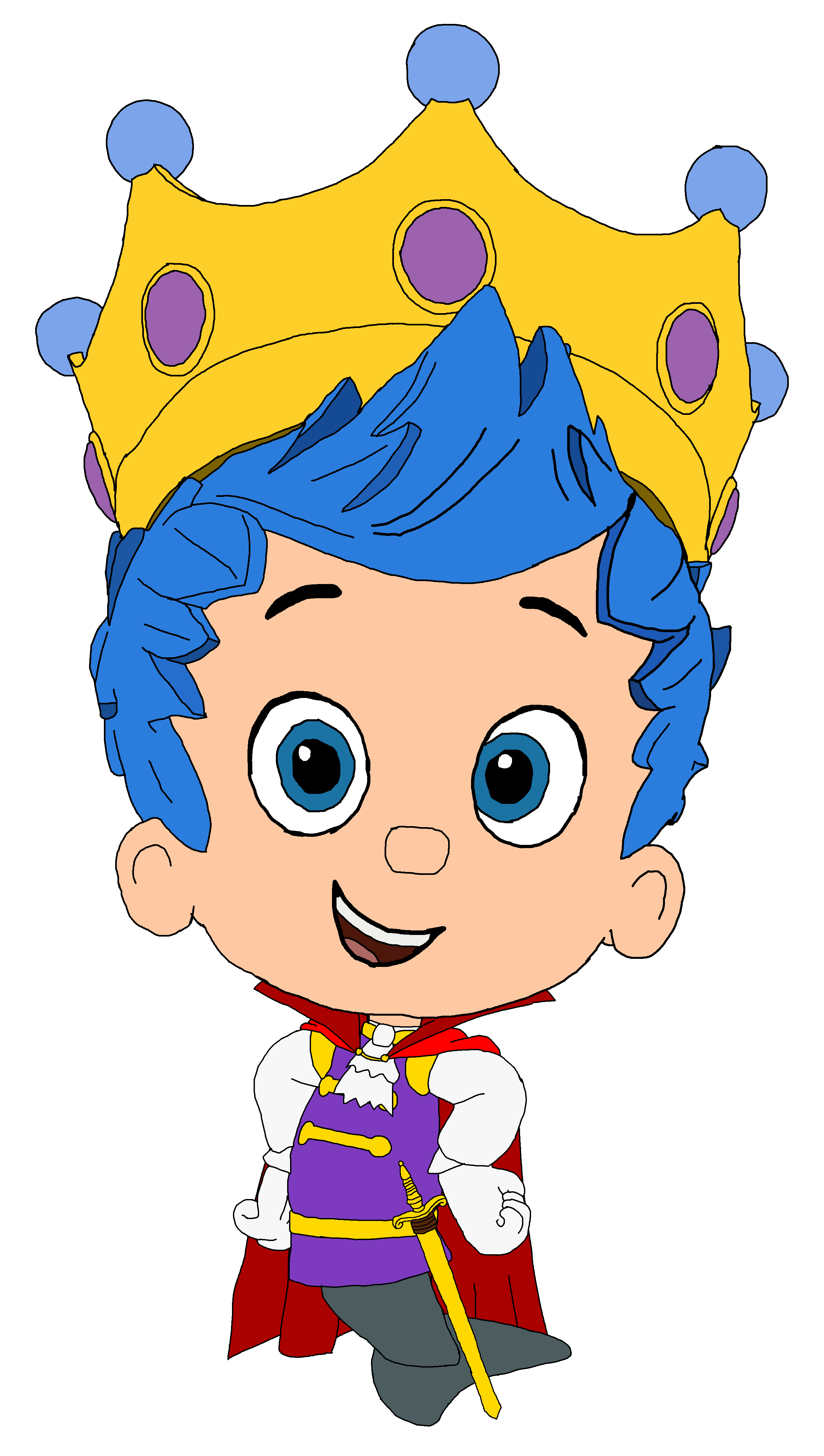 2554x4510 Bubble Guppies Images Prince Gil Hd Wallpaper And Background