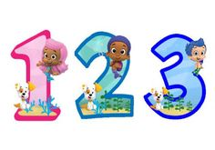 236x165 Bubble Guppies 2nd Birthday Instant Download Digital Clip Art