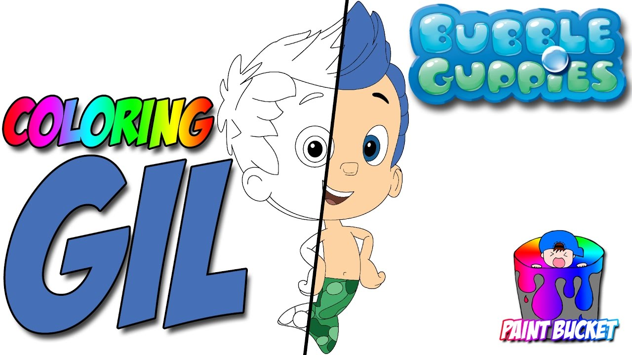 1280x720 Bubble Guppies Coloring Pages Gil