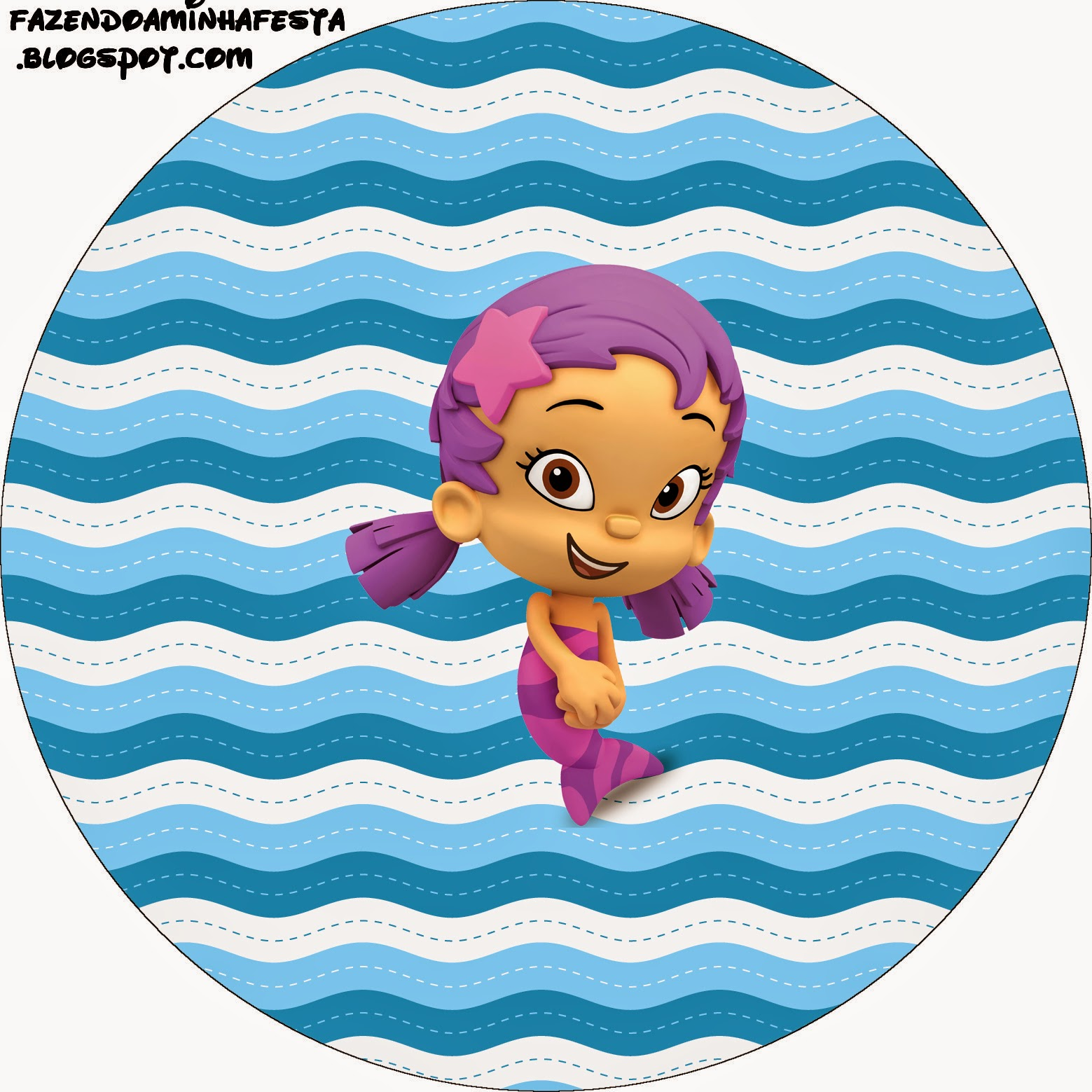 1559x1559 Bubble Guppies Free Printable Candy Bar Labels. Oh My Fiesta!