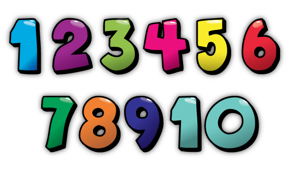 595x350 Collection Of Bubble Numbers Clipart High Quality, Free
