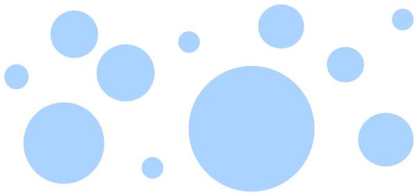 600x282 Bubbles Png, Svg Clip Art For Web