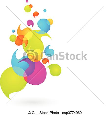 450x470 Colorful Bubble Background