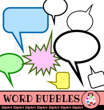 332x350 Comic Bubbles Clipart Png Teaching Resources Teachers Pay Teachers