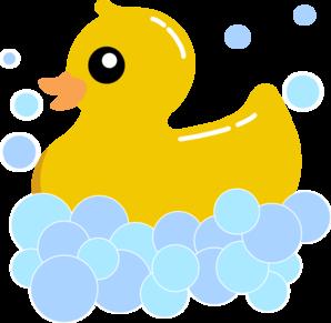 298x291 Rub Duck Bubbles Clip Art