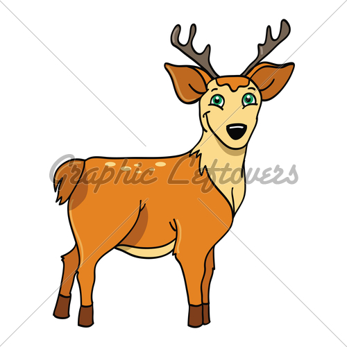 500x500 Deer Buck Gl Stock Images