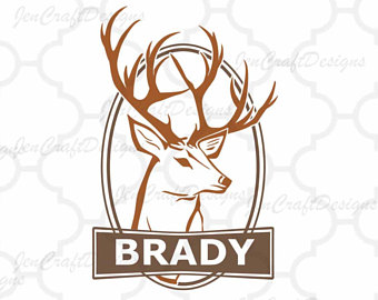 340x270 Deer Heartbeat Svg Etsy