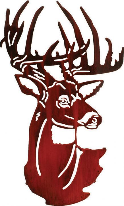 436x724 Metal Wall Art Unique 3d Rustic Buck Decor Metal Wall Art
