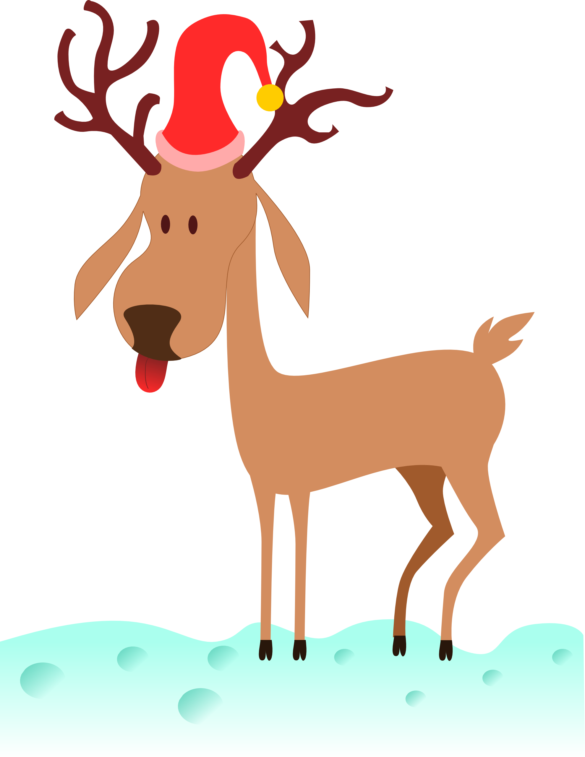 1979x2562 Deer Clipart Images Black And White