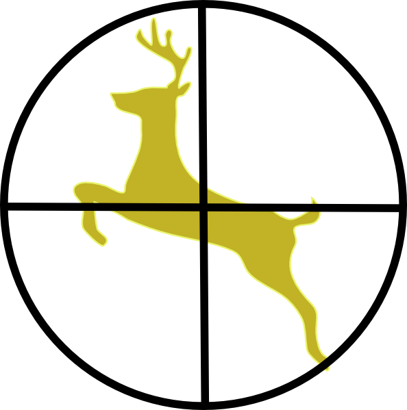 594x599 Buck Clipart Hunting
