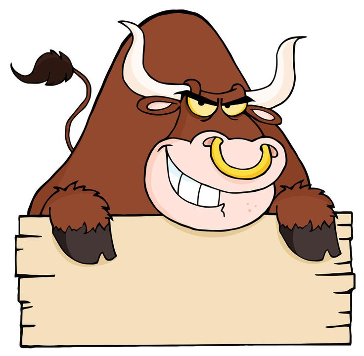 Bucking Bull Clipart