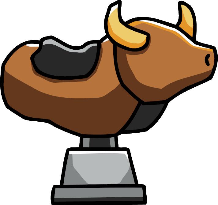 712x669 Mechanical Bull Scribblenauts Wiki Fandom Powered By Wikia