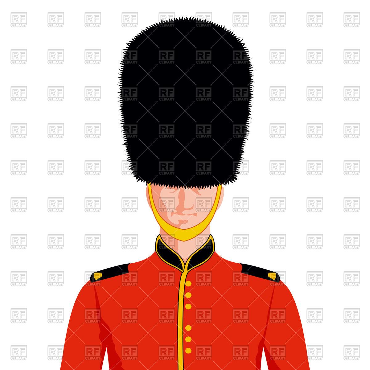 1200x1200 Royal British Guard Royalty Free Vector Clip Art Image