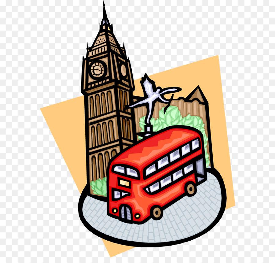900x860 Big Ben River Thames Bus Tower Clip Art