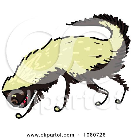 450x470 Honey Badger Clipart Fierce