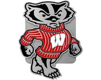 344x272 Wisconsin Badger Clip Art