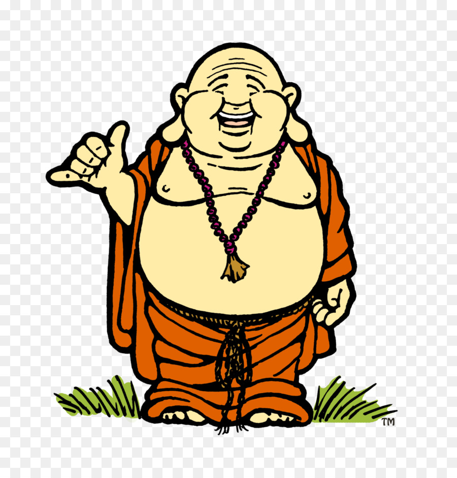 900x940 Buddhism Happiness Budai Clip Art