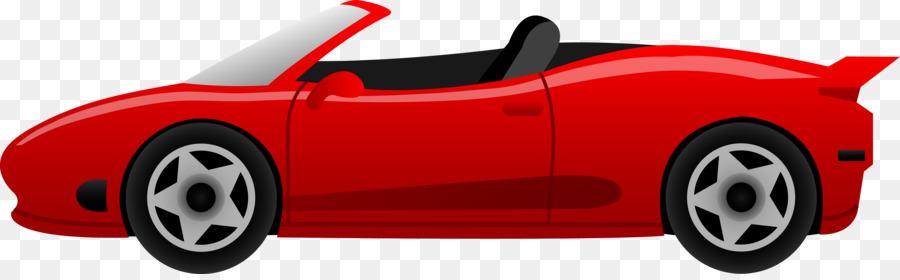 900x280 Sports Car Ferrari Cartoon Clip Art