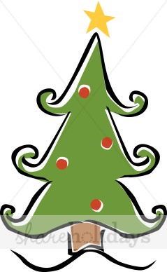 239x388 Whimsical Christmas Tree Clip Art Free Clipart