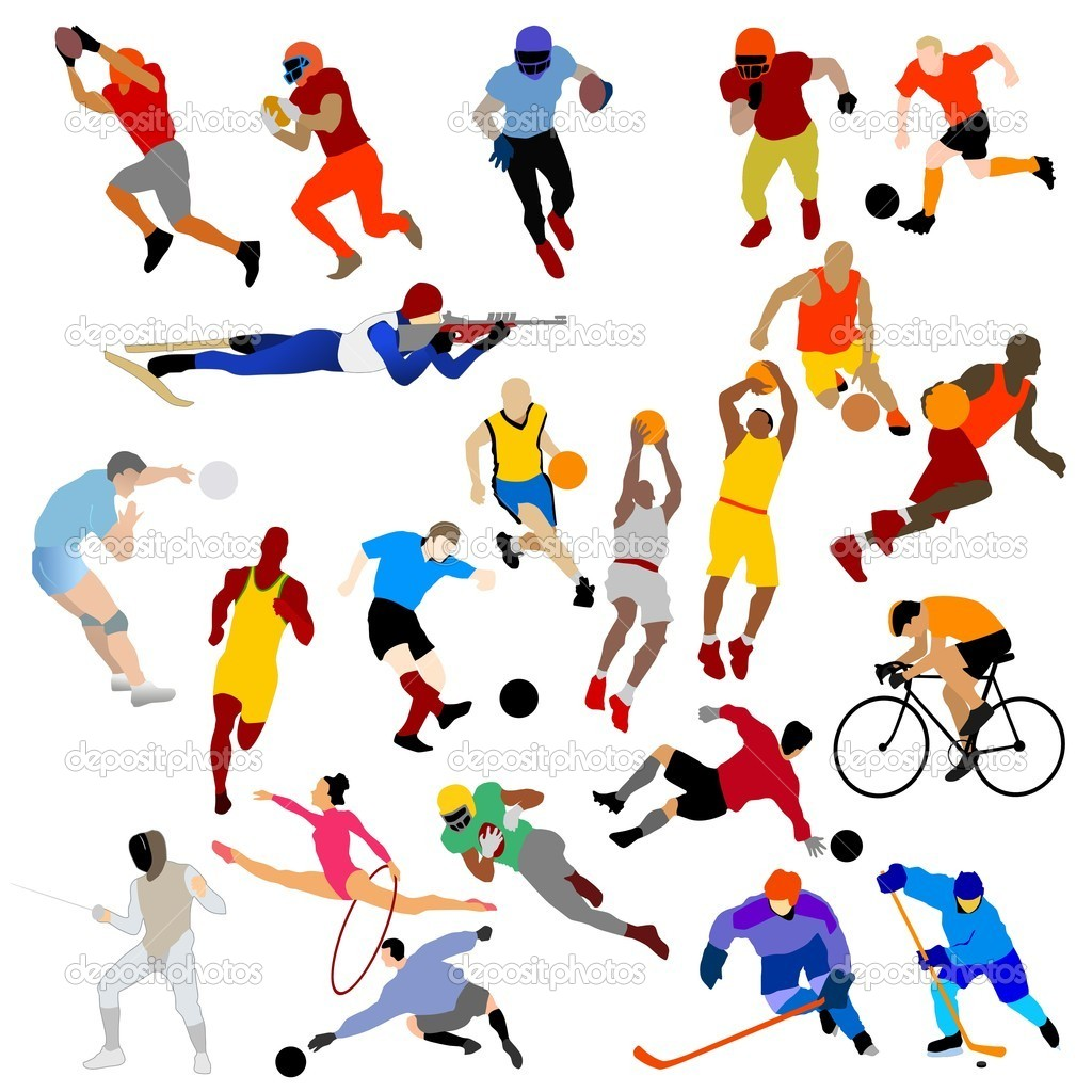 1024x1024 Collection Of Sport Clipart Vector High Quality, Free