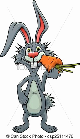 271x470 Rabbit Eating Carrot Drawing Unique Bug Bunny Drawing