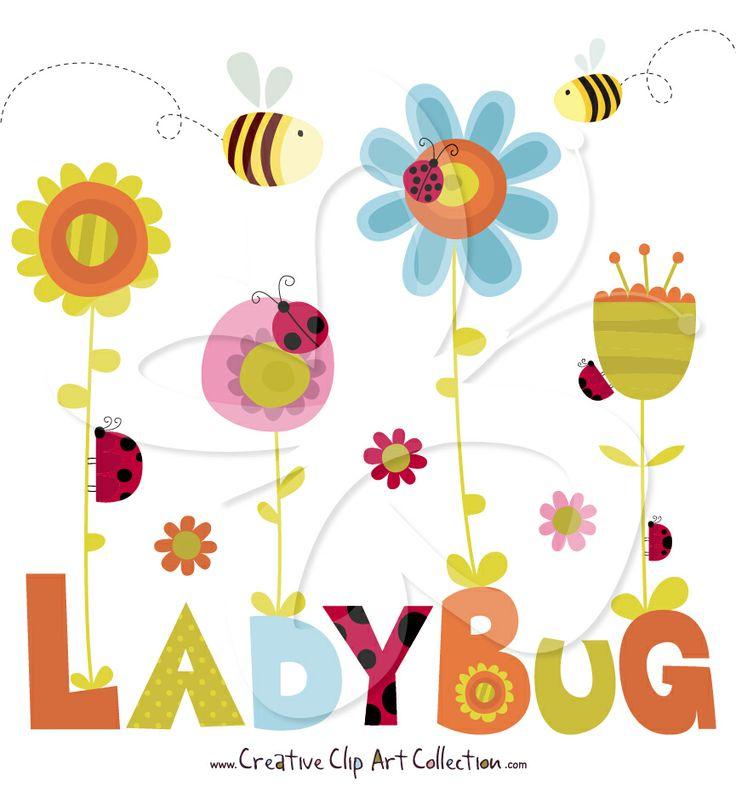 736x787 Spring Bugs Clip Art