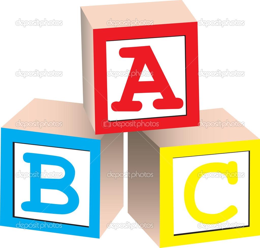 1024x978 Building Block Letters Clipart