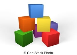 270x194 Building Blocks Clipart