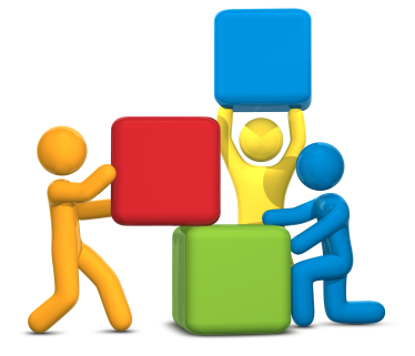 374x321 Building Relationships Clipart