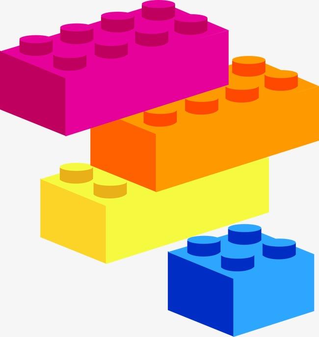650x687 Colored Plastic Building Blocks, Color, Plastic, Building Blocks