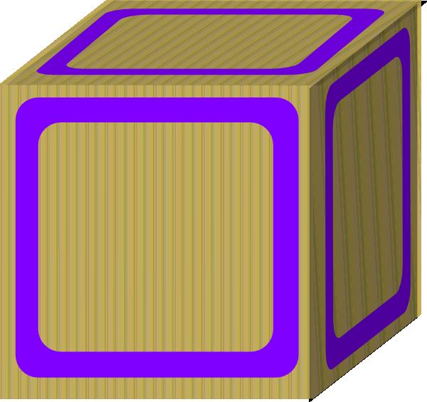 600x565 Wondrous Design Ideas Block Clipart Plain Purple Clip Art At Clker