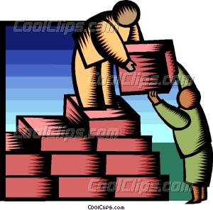 300x296 Building Blocks Of Success Vector Clip Art