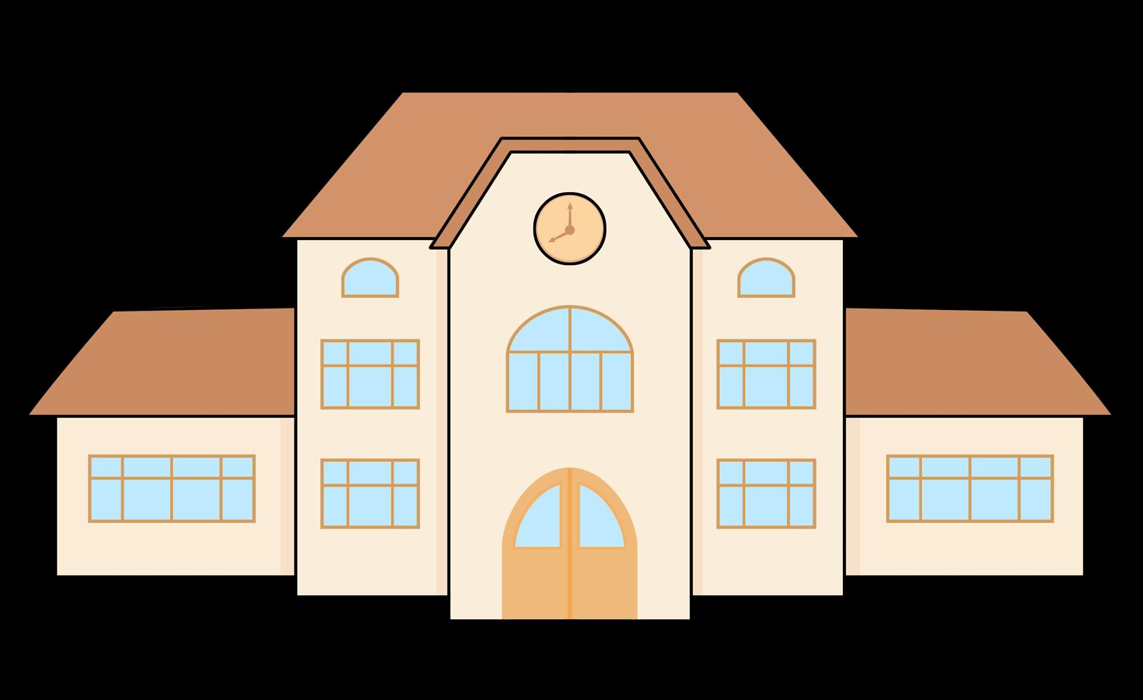 1600x980 Comic Clipart Building
