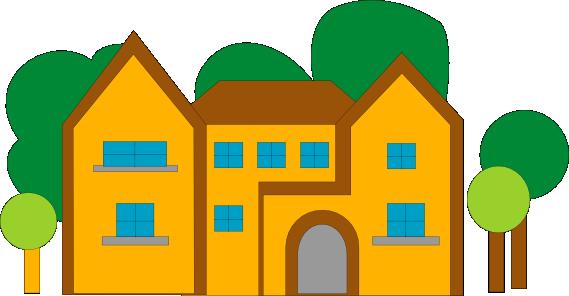 569x296 Image Of School Building Clipart